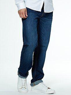 Homme du S au XXL Jean regular 5 poches longueur US 34