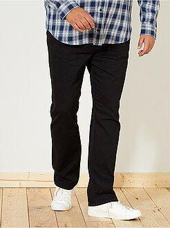 Grande taille homme Jean regular black