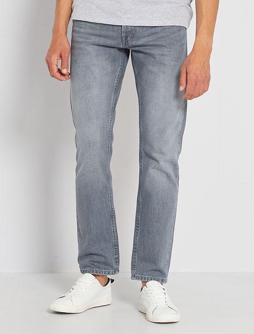 Jean regular éco-conçu L30                     gris