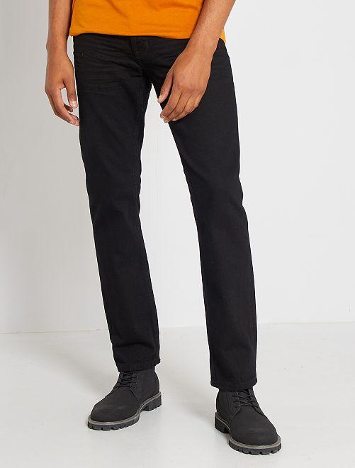 Jean regular éco-conçu L30                                                                 noir