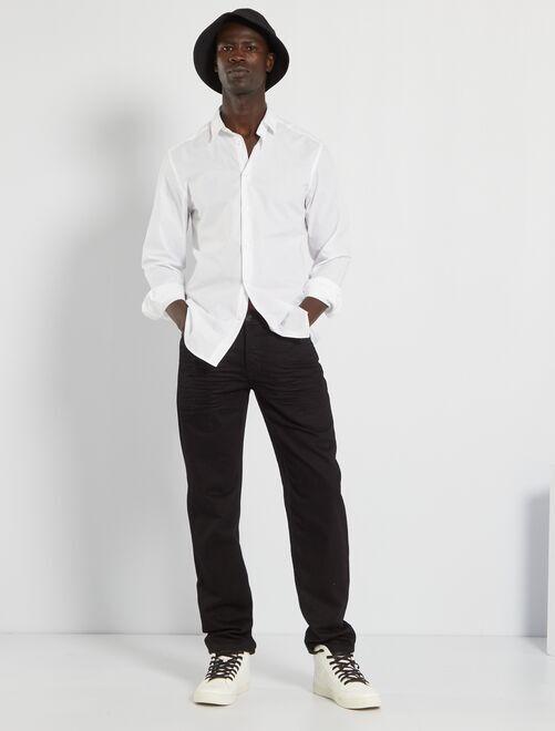 Jean regular éco-conçu L32                                                                                         black