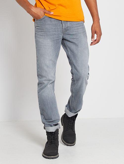 Jean regular éco-conçu L32                                                                                         gris