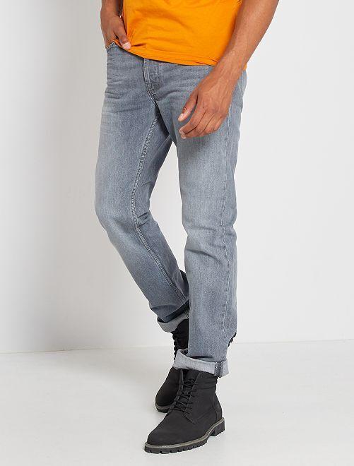Jean regular éco-conçu L34                                                                             gris moyen