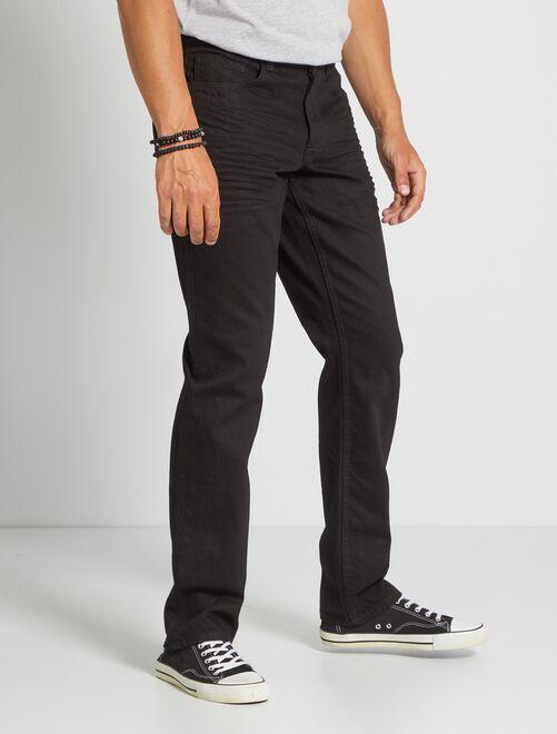 Jean regular éco-conçu L34                                                                 noir