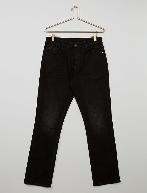 Jean regular éco-conçu                                         noir