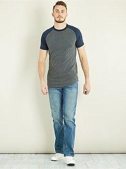 Homme de plus d'1m90 - Jean regular pur coton L36 +1m90