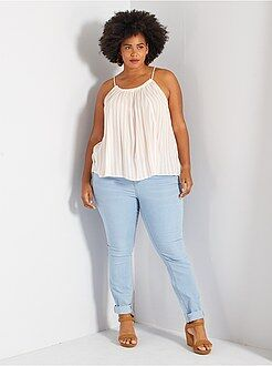Grande taille femme Jean skinny 5 poches effet push-up L32