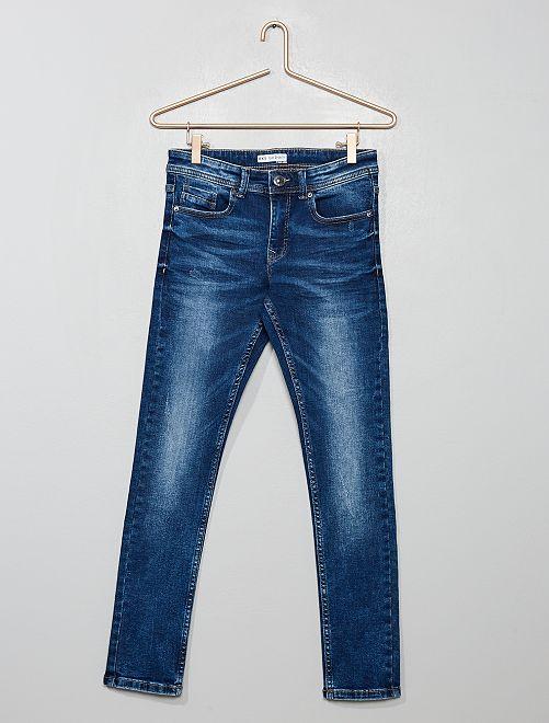 Jean skinny délavé                                 brut