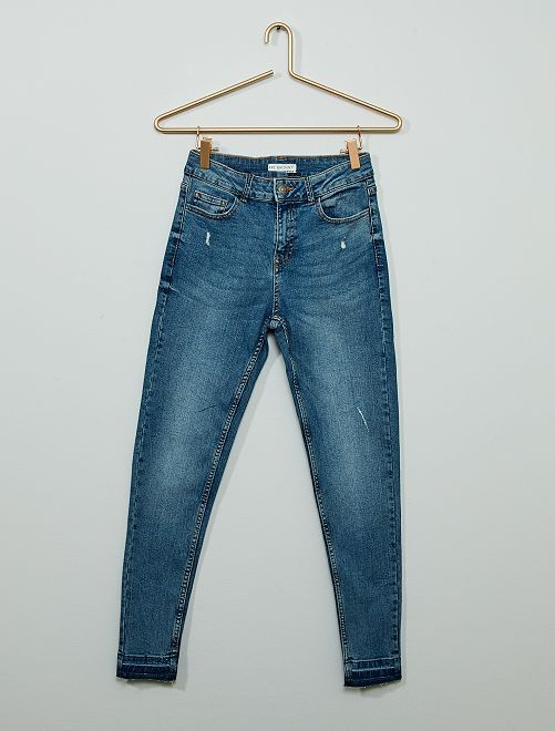 Jean skinny                                         denim