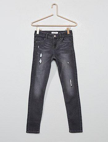 126cf60a0a Soldes jeans fille pas chers | pantalon | mode denim Fille | Kiabi