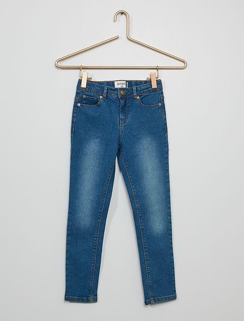 Jean skinny 'éco-conception'                                                                 BLEU
