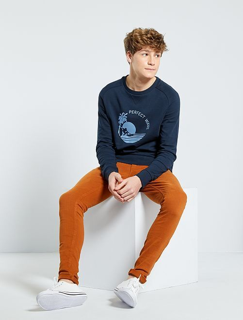 Jean skinny 'éco-conception'                                                                             orange