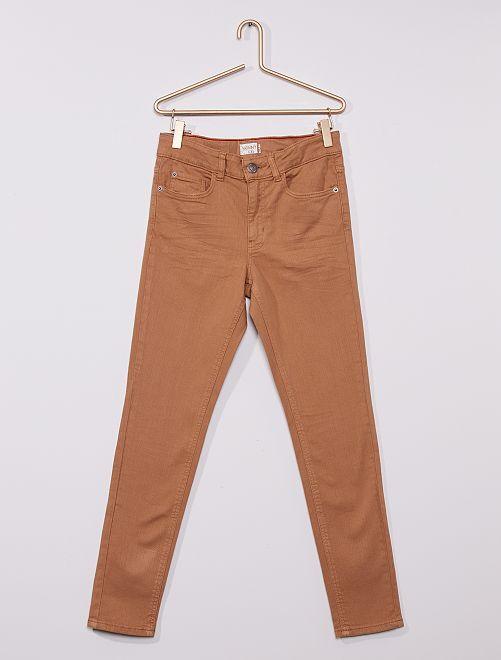 Jean skinny éco-conçu                                                                 BEIGE