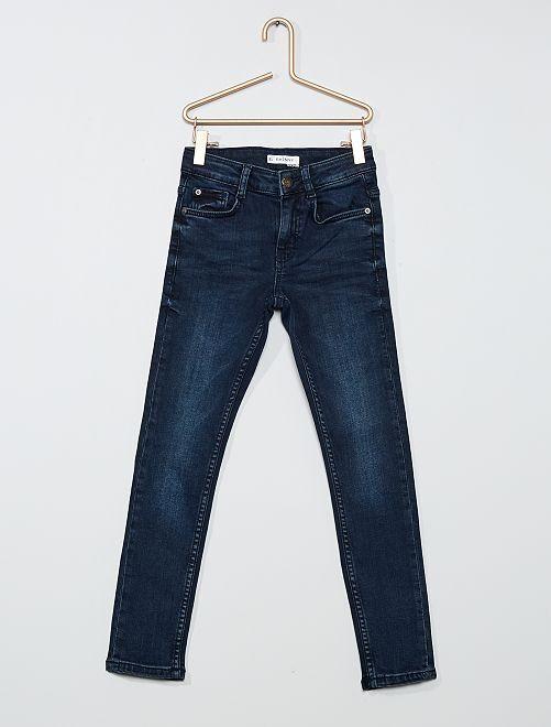 Jean skinny éco-conçu                                                                             blue black