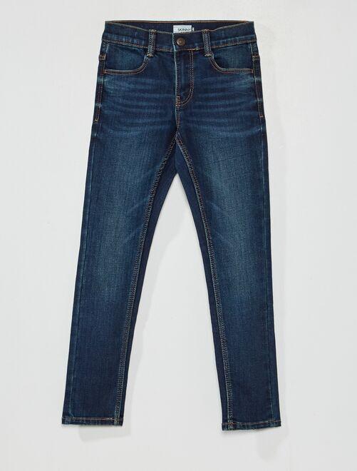 Jean skinny éco-conçu                                                     brut