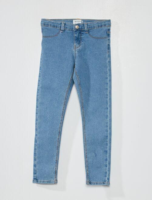 Jean skinny éco-conçu                                                                             double stone
