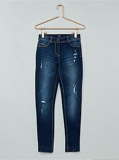 Jean - Jean skinny effet d'usure - Kiabi