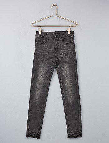 Jean skinny effet d'usure - Kiabi
