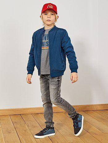 Jean skinny effet neige
