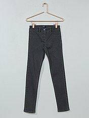 Jean skinny en denim
