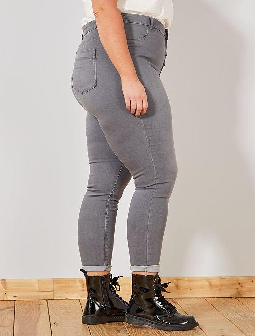 27e9635b2 Jean skinny en denim stretch taille haute