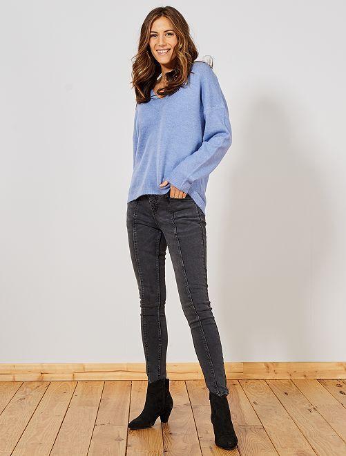 Jean skinny fit                                         noir