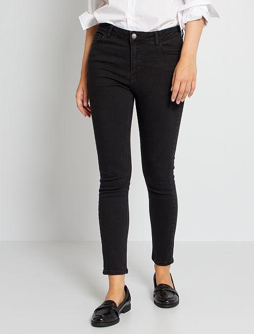 Jean skinny L34 éco-conçu                                                                                         noir