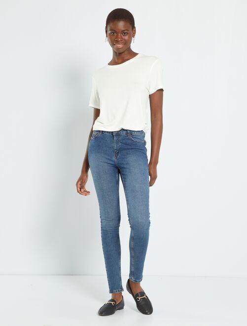 Jean skinny longueur US30                                                                                         bleu