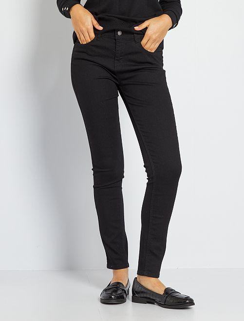 Jean skinny                                                                                                     noir Femme