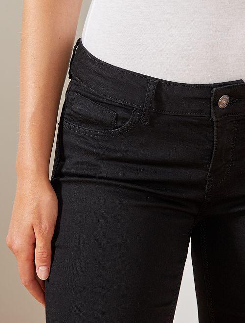 177c02d49e33 Jean skinny Femme - noir - Kiabi - 10