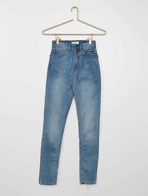 Jean skinny stretch                                         bleu