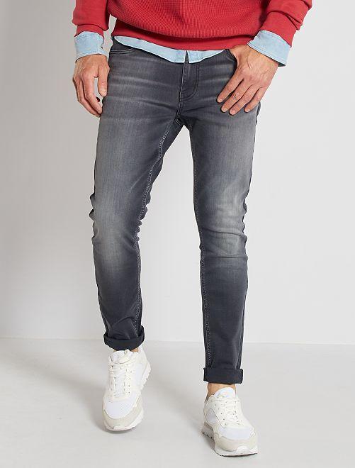 Jean skinny stretch                                         gris