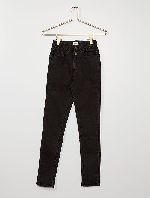 Jean skinny stretch                                         noir