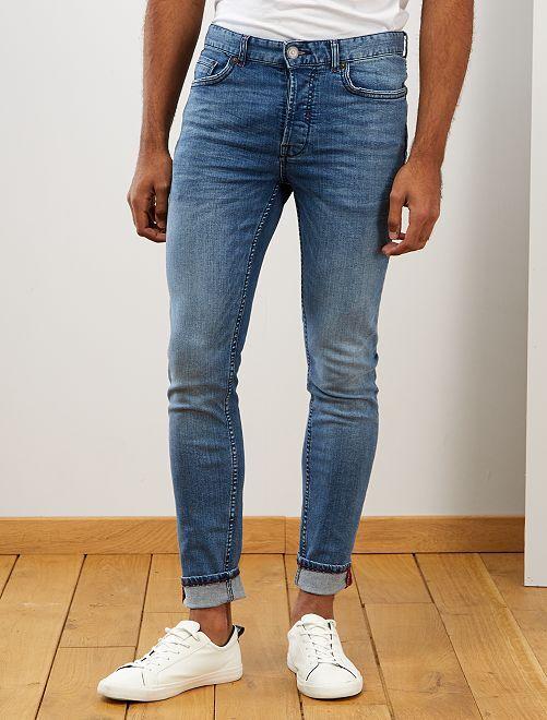 Jean skinny stretch                             stone