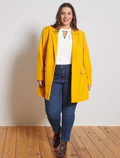 Jean skinny style vintage                             bleu