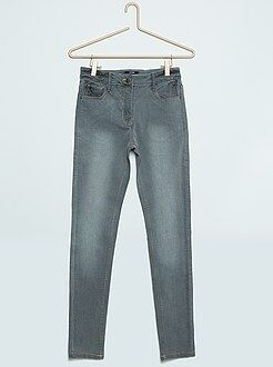 Fille 10-18 ans Jean skinny taille haute