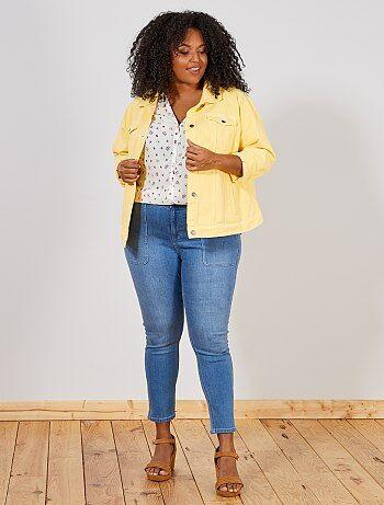 b507fc81b58 Jean skinny taille haute - Kiabi