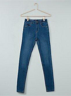 Jean - Jean skinny taille haute - Kiabi