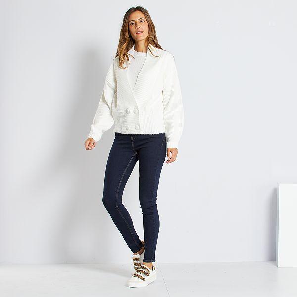 design intemporel beaucoup à la mode nouveau produit Jean skinny taille haute longueur US 30