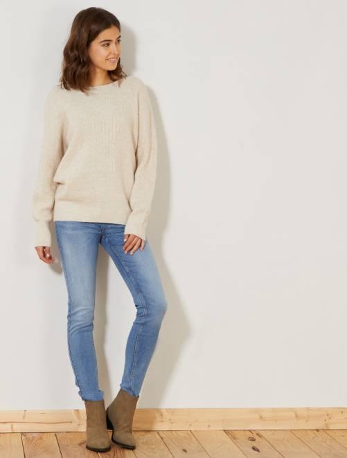 Jean skinny taille haute longueur US 32                                                                             double stone Femme