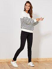 Jean skinny taille haute longueur US 34
