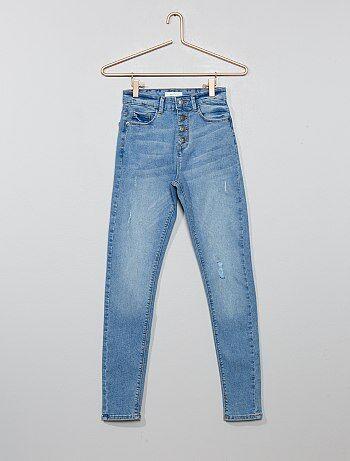 f331bd4011a07 Soldes jeans filles - pantalon Vêtements fille | Kiabi