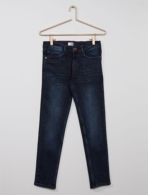 Jean slim éco-conçu                                         blue black