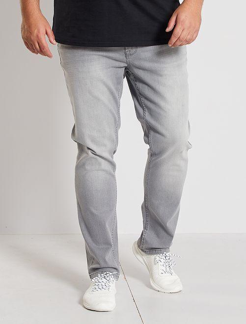 Jean slim éco-conçu                                                                             gris clair