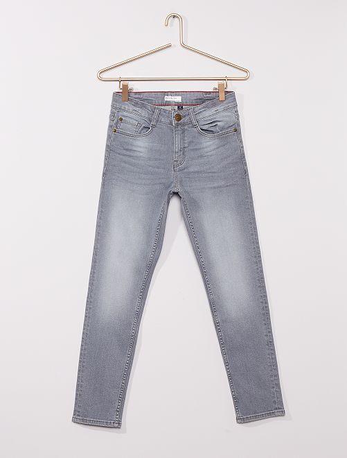 Jean slim éco-conçu                                         gris