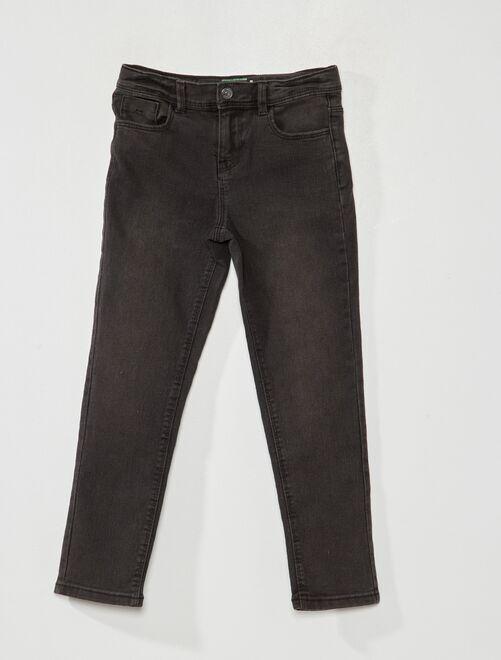 Jean slim éco-conçu                                                                 noir