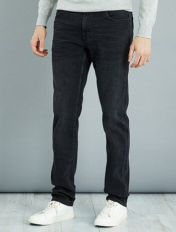 Homme du S au XXL - Jean slim en coton stretch L36 +1m90 - Kiabi
