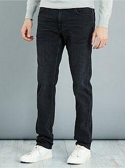 Homme de plus d'1m90 - Jean slim en coton stretch L36 +1m90