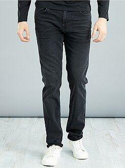 Homme de plus d'1m90 - Jean slim en coton stretch L38 +1m90