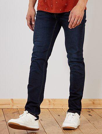 Homme du S au XXL - Jean slim en coton stretch L38 +1m90 - Kiabi